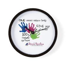 500+ Orphans No More Wall Clock