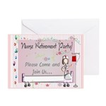 Retired Nurse Greeting Cards (Pk of 10)