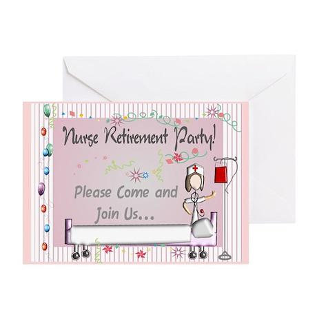 Retired Nurse Greeting Cards (Pk of 10)