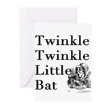 Alice in Wonderland- Twinkle Greeting Cards (Pk of