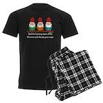 Burning Stare of The Gnomes Men's Dark Pajamas
