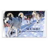 MKC Mush Rectangle Decal