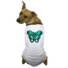 Human Anatomy Pelvis Dog T-Shirt