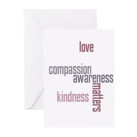 Kindness Matters Greeting Cards (Pk of 10)