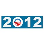 2012 Obama Icon Bumper Sticker