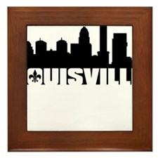 Louisville Skyline Framed Tile