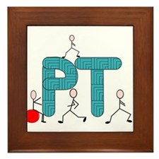 Physical Therapy Framed Tile