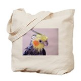 The Cockatiel After a Bird Bath Tote Bag