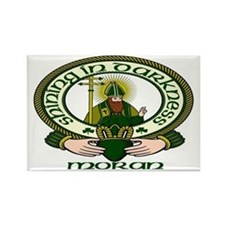 Moran Clan Motto Rectangle Magnets (10 pack)
