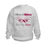 Head Neck Cancer Hero Sweatshirt