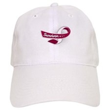 Head Neck Cancer Survivor Baseball Cap