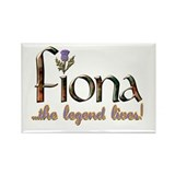 Fiona the Legend Rectangle Magnet
