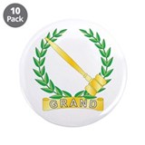 "Grand Worthy Advisor 3.5"" Button (10 pack)"