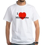 I Love Minnesota Shirt