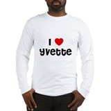 I * Yvette Long Sleeve T-Shirt