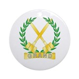 Grand Worthy Associate Adviso Ornament (Round)
