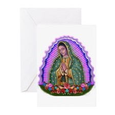 Lady of Guadalupe T4 Greeting Cards (Pk of 10)