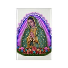 Lady of Guadalupe T4 Rectangle Magnet (10 pack)