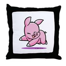 My Piggy (3) Throw Pillow