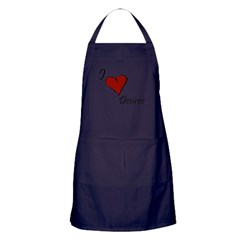 I love Desiree Apron (dark)