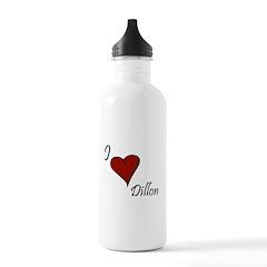 I love Dillon Water Bottle