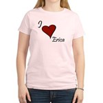 I love Erica Women's Light T-Shirt