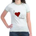 I love Ethan Jr. Ringer T-Shirt