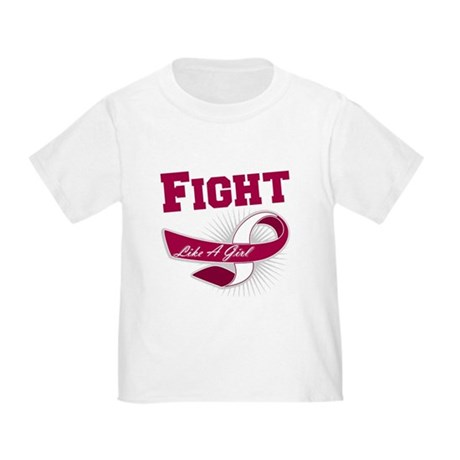 Fight Head Neck Cancer Toddler T-Shirt