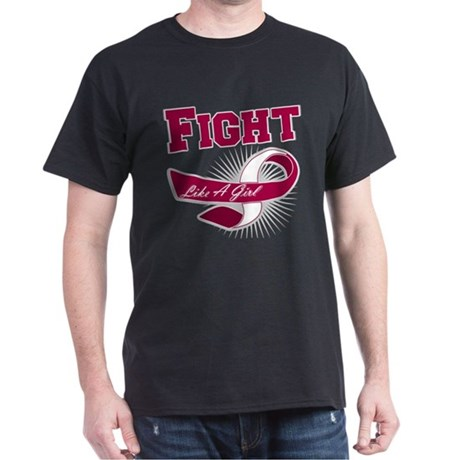 Fight Head Neck Cancer Dark T-Shirt