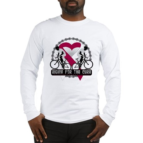 Head Neck Cancer Ride Cure Long Sleeve T-Shirt