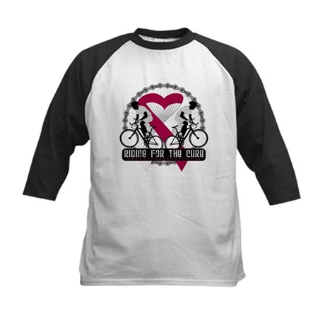 Head Neck Cancer Ride Cure Kids Baseball Jersey