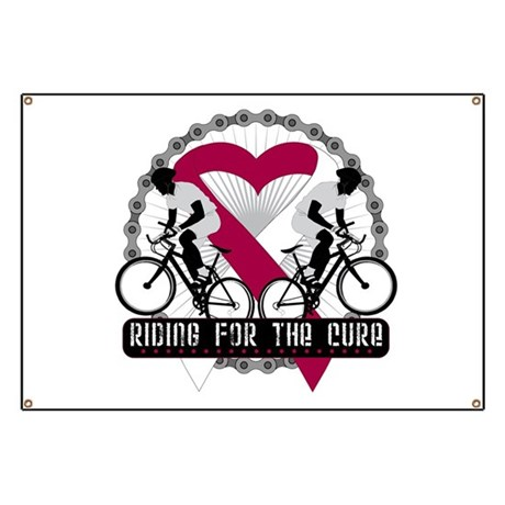 Head Neck Cancer Ride Cure Banner