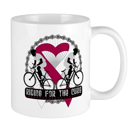 Head Neck Cancer Ride Cure Mug