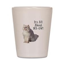 ME-OW Persian Cat Shot Glass