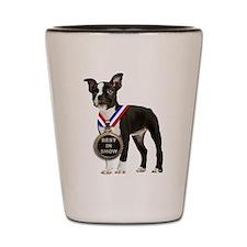Best Boston Terrier Shot Glass