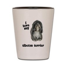 Tibetan Terrier Lover Shot Glass