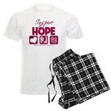 Head Neck Cancer InspireHope Pajamas