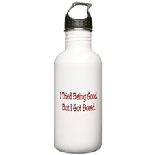 I Tried Being Good.. Sports Water Bottle