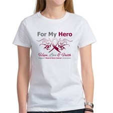 Head Neck Cancer Hero Tee