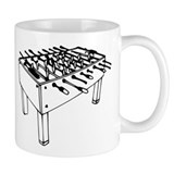 Foosball Small Mug