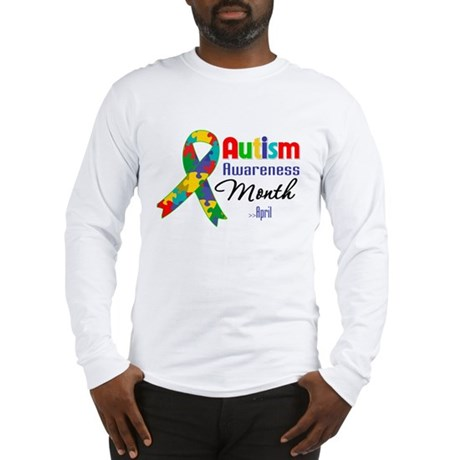 Autism Awareness Month Long Sleeve T-Shirt