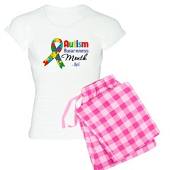 Autism Awareness Month Women's Light Pajamas