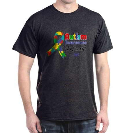 Autism Awareness Month Dark T-Shirt