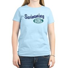 Swimming Girl T-Shirt