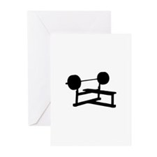 Weightlifting Greeting Cards (Pk of 10)