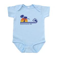 Queensland Australia Infant Bodysuit