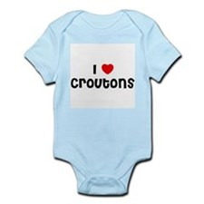 I * Croutons Infant Creeper