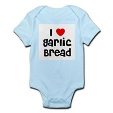 I * Garlic Bread Infant Creeper