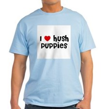 I * Hush Puppies Ash Grey T-Shirt