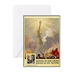 Statue of Liberty Greeting Cards (Pk of 10)